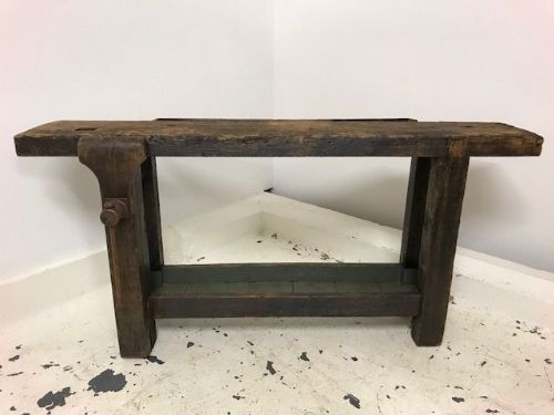 Industrial French Work Bench / Counter - B62